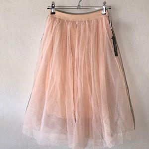 Haute Monde | Tule Ballet Knee Length Full Skirt M